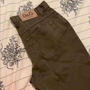 D&G  Dolce and Gabbana pants. (inseam 25in)